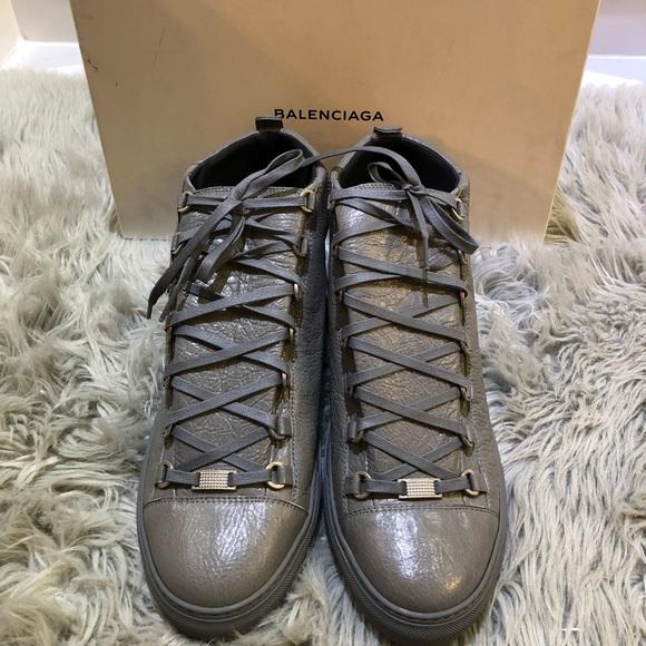1adeea8b0 Balenciaga Other - Men s Balenciaga Arena Creased Leather Sneakers